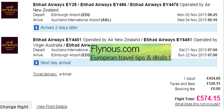 Cheap return flights from UK to incredible New Zealand from £574!
