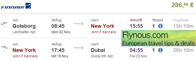 Multi-city flights to USA, Dubai and Seychelles from €652/£474! (+ India)