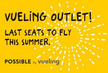 Vueling summer promotional sale - discounted flights from €58..