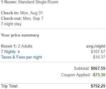 Orbitz.com promotion code - save 10% off hotel room booking!