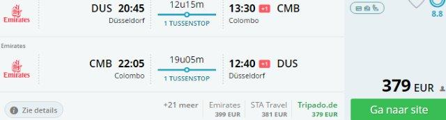 Emirates: Cheap flights to Bangkok, Colombo, Kuala Lumpur from €379!