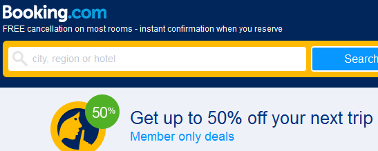 Booking.com promo sale 2018 - secret deals with up to 50% discount!