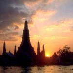 Open jaw flights from Cyprus to Bangkok return to London £196 (€230)!
