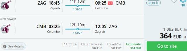 Qatar Airways promo sale from Croatia/Serbia from €364! (+ kids fly for free!)
