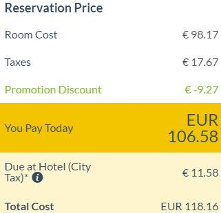 Otel.com promotion code 2018 - 6% discount all accommodation!