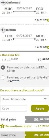 Vueling sale: Fly between European cities and Rome for €30 round-trip! (Summer holidays!)