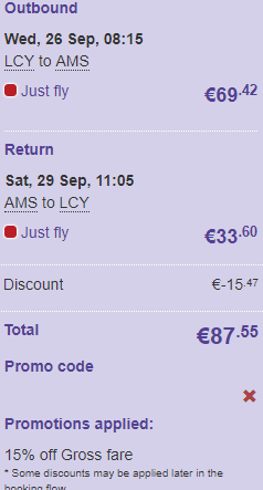 Flybe promo code august 2019