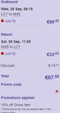 flybe promo code
