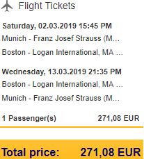 Lufthansa promotion: Cheap non-stop flights Germany to USA from €271!