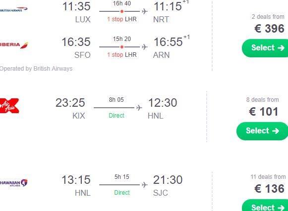 Round-The-World flights to Japan, Honolulu & California from €633 (£557)!