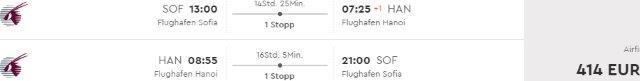 Cheap return & open-jaw flights from Sofia to Vietnam (Hanoi, Ho Chi Minh City) from €410!