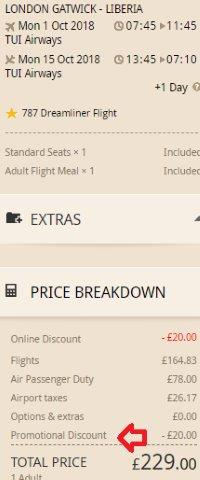TUI Airways UK promo code: get £20 discount on all return flights!
