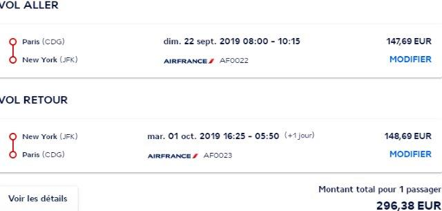 Air France promo sale: Non-stop from Paris to Worldwide destinations from €296!
