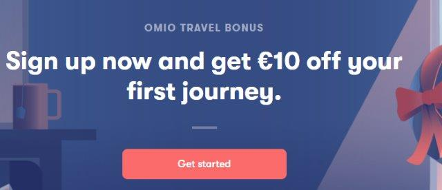 Omio promo code: save up to 10% off your next booking!