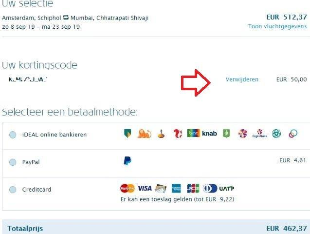 KLM promotion code 2019 - up to €50 discount off flights!