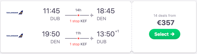 Cheap summer holiday flights from Dublin to Denver from €357 return!