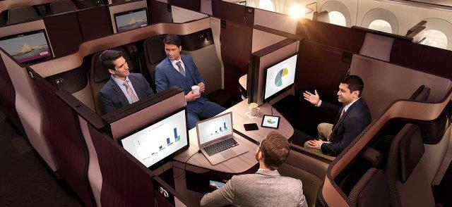 All Qatar Airways Qsuite routes, flight numbers & aircrafts! (UPDATED)
