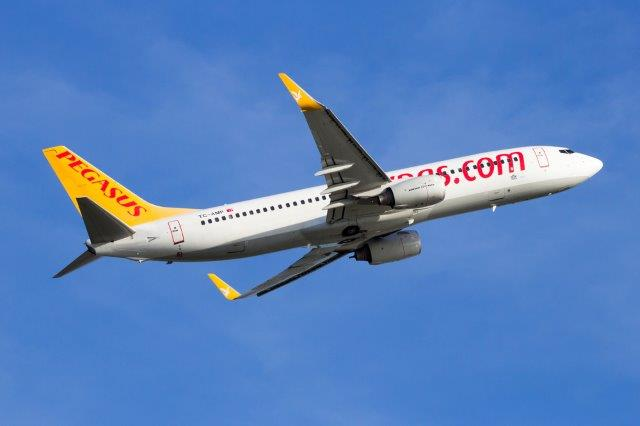 Pegasus Airlines promotion - up to 50% discount all flights!