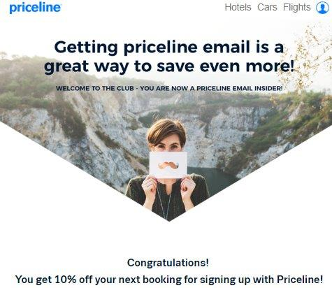 PRICELINE COUPON CODE 10 OFF
