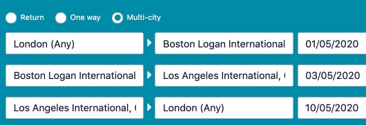 Cheap Flights with Skyscanner - The Ultimate Guide - Multi-City