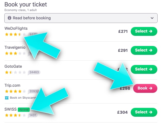 Cheap Flights with Skyscanner - The Ultimate Guide - Online Travel Agents