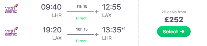 Super cheap non-stop flights from London to USA! Under £253 to L.A., Seattle, Miami, New York & Boston!