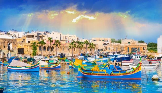 Flights to Malta from across the UK from only £23 return!