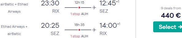 Cheap flights from Riga to Mahé, Seychelles from €440 return!