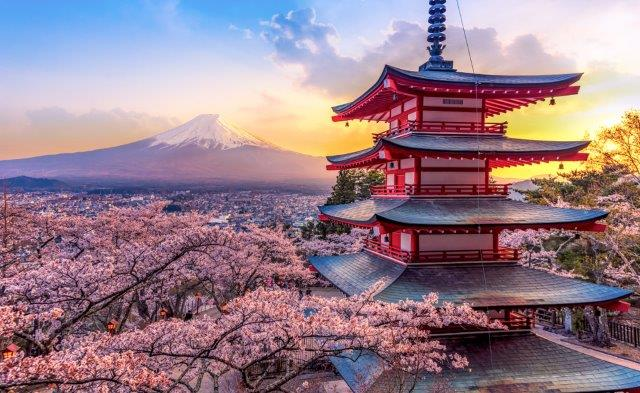 Fly to Japan from the UK from £393!