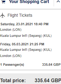 Lufthansa/SWISS full-service flights from London to Kuala Lumpur for £338!