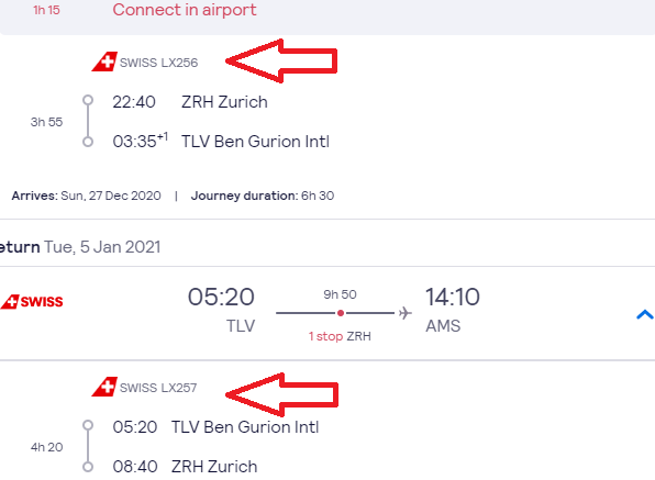 BUSINESS CLASS flights from Amsterdam to Tel Aviv, Israel from €339!