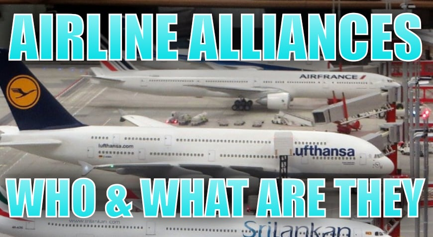 Airline Alliances: What are they & who are in them?