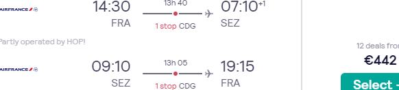 Fly from Frankfurt, Germany to Mahé, Seychelles for €442 return!