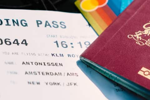 Amsterdam Schiphol Airport Guide - Boarding Pass