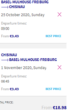Cheap flights from France to Chisinau, Moldova over Summer Holidays from €19!