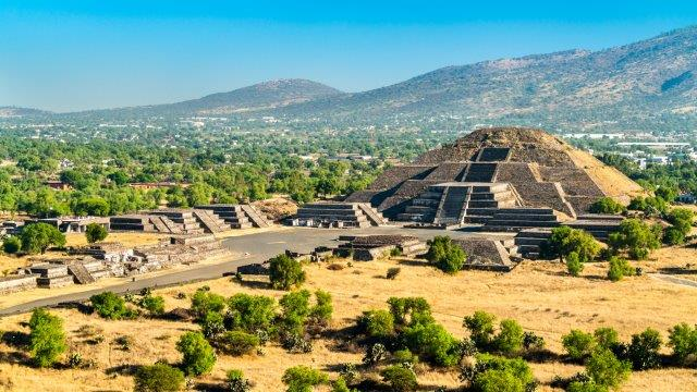 Air France / KLM return flights from Brussels to Mexico City for €410!