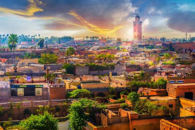 Cheap flights from London to Marrakesh, Morocco for £18 return