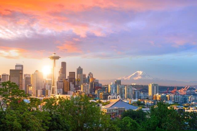 Cheap non-stop return flights from Amsterdam to Seattle from €297 return!