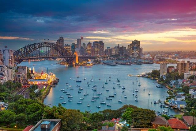 5* Lufthansa / ANA flights from Amsterdam to Sydney, Australia from €707!