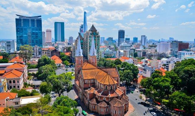 Vienna to Vietnam! Full-service flights to Ho Chi Minh City or Hanoi from only €407 from Austria!