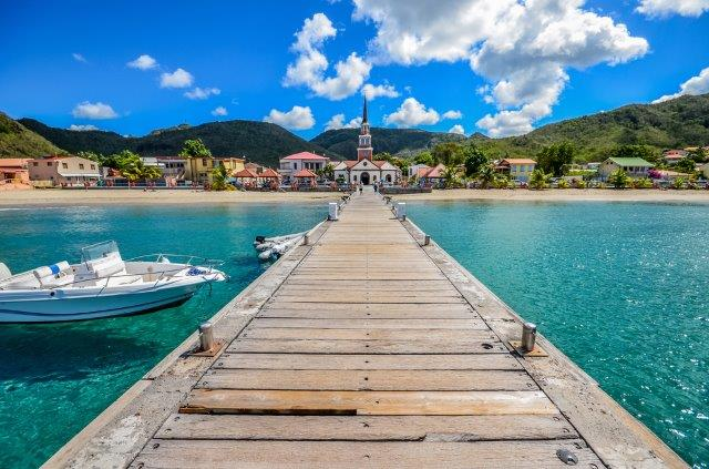 Return flights from the UK to Martinique or Guadeloupe from £406!