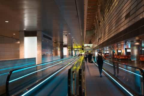 Doha Airport Walkway