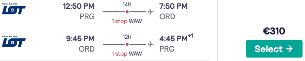 Fly from Prague to Chicago for only €310 return! New York, Miami and Washington DC too!