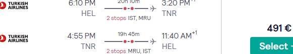Return flights from Helsinki to amazing Madagascar from €491!