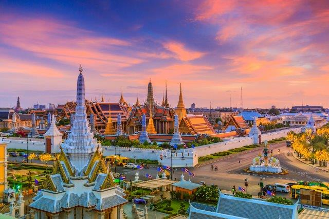Cheap flights from Prague to Bangkok, Thailand from €361!