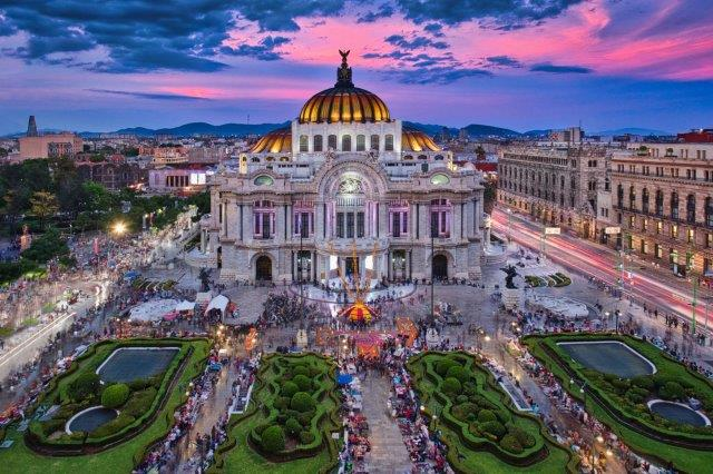 Cheap flights from Switzerland to Mexico City from €330!