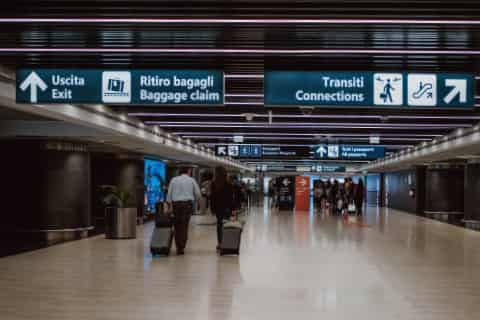 airport guide rome fiumicino connections