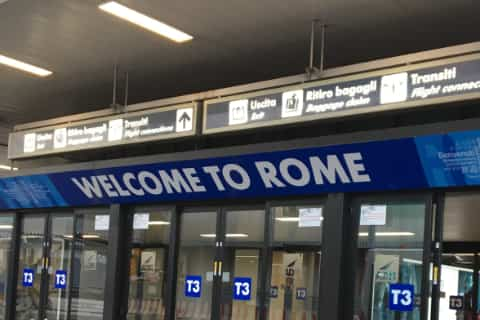 airport guide rome fiumicino welcome