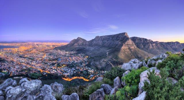 Return flights from  the UK cities to South Africa (Cape Town, Johannesburg) from £348!
