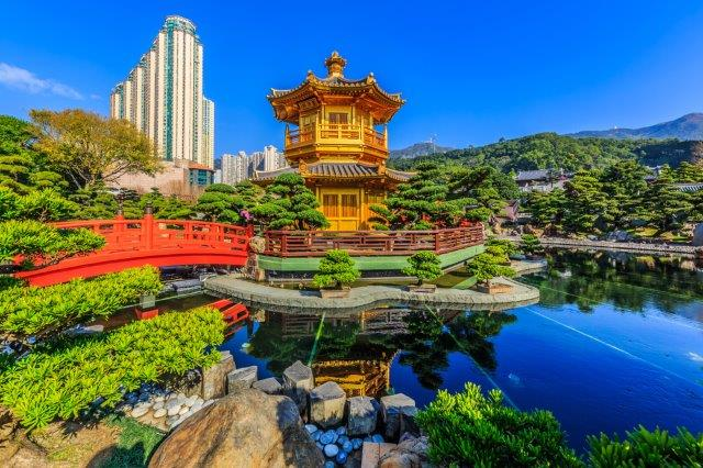 Cheap return flights from Germany to Hong Kong from €351!